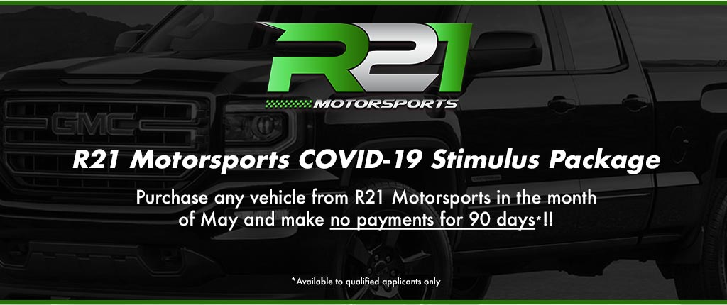 R21 Motorsports Stimulus Package
